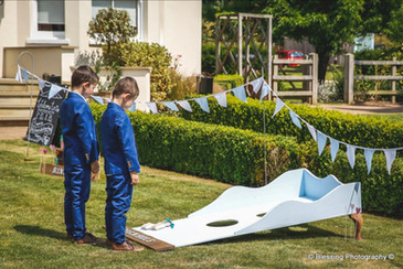 wedding cornhole game