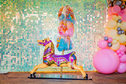 Candy the carousel horse