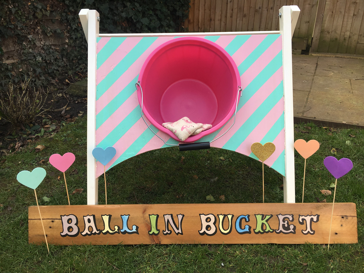 Ball in Bucket Game