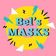 bels masks handmade face masks