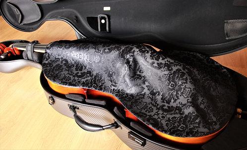 Blanket Cello - Black Venetian Floral
