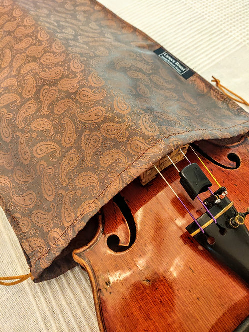 Bag Violin - Amber Paisley