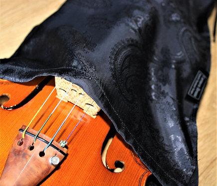 Bag Violin - Black Big Floral