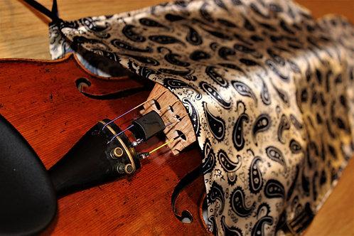 Bag Viola - Dark Blue & Beige Paisley