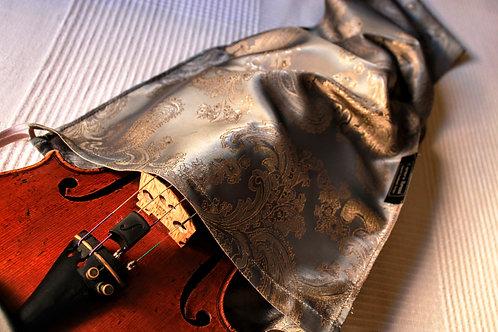 Bag Viola - Gunmetal & Gold Paisley