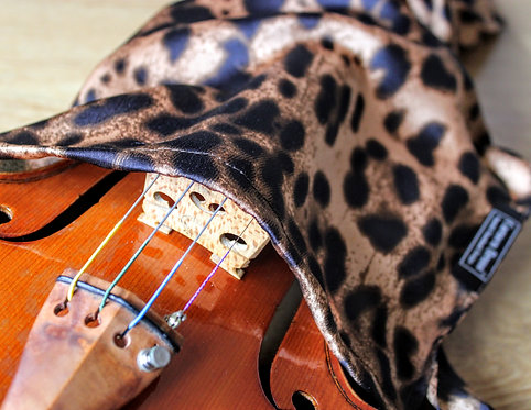 Bag Violin -Leopard