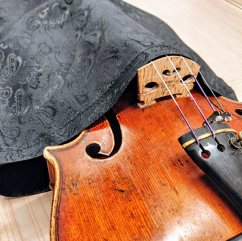 Bag Violin - Black Paisley