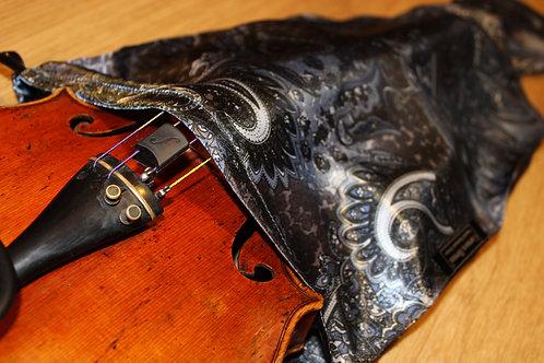 Violin - Marengo Grey & Black Paisley