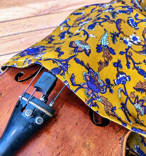 Bag Violin - Art Noveau in Ochre & Purple
