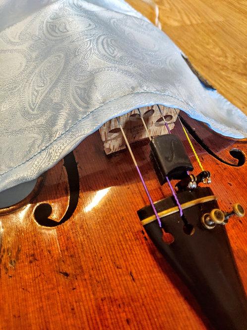 Bag Violin - Sky Blue Paisley