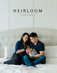 Heriloom Client Guide for Newborn Photography