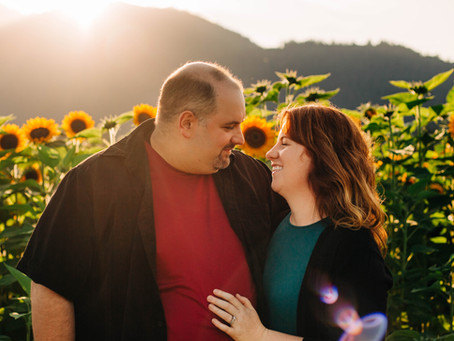 Peterson Sunflower Festival | Vancouver Family Photographer