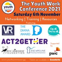 Youth Work Conference 2021 Workshop Information