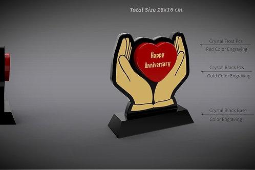 Wedding Anniversary Heart Gift