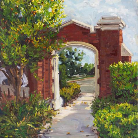 Sunshine on College Avenue (Wescott Gate)