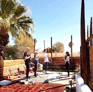 Yoga Retreat, Palm Springs 2018