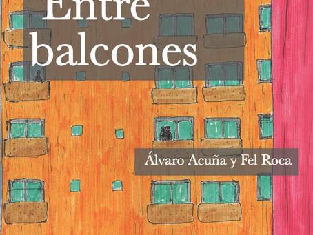 """Lanzamiento libro: """"Entre Balcones"""" el amor en pandemia"""