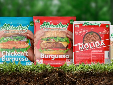 La marca chilena líder en bebidas vegetales redobla apuestas con su nueva línea de carne alternativa