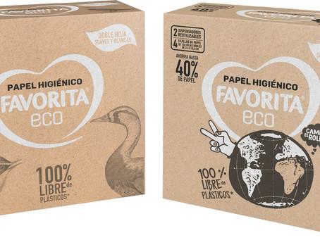 El primer papel higiénico 100% libre de plásticos
