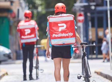 PedidosYa implementa Estación de Sanitización para riders en Providencia