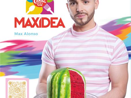 El ex MasterChef Max Alonso presenta su primer libro de cocina