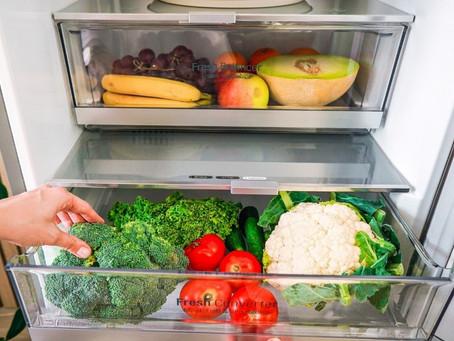 Entérate de cómo almacenar y manipular correctamente frutas y verduras para alargar su vida útil