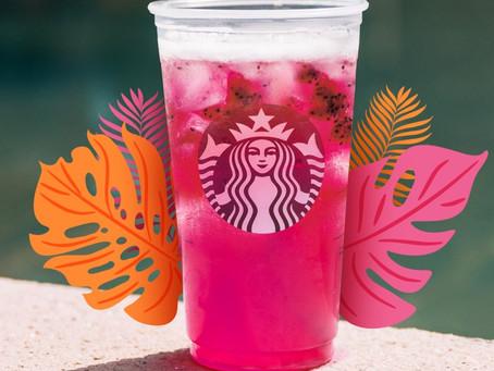 Disfruta este verano con las nuevas coloridas y refrescantes bebidas de Starbucks