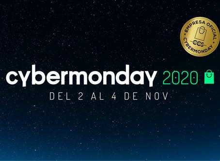 CyberMonday 2020 inicia el lunes 2 de noviembre con 601 sitios oficiales