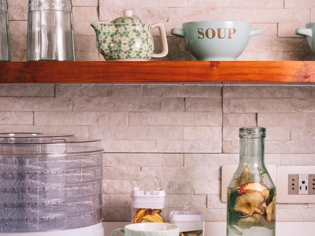 Prepara en casa tus propias infusiones de frutas deshidratas