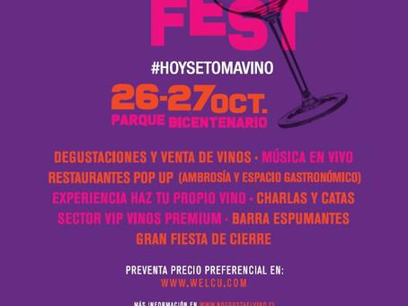 Primera versión del Chile Wine Fest se toma Santiago