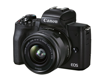 Diseñada para los creadores de contenidos, Canon presenta la cámara mirrorless EOS M50 Mark II