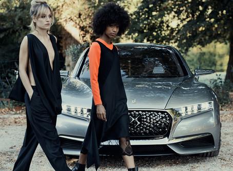 Paris Fashion Week: moda editorial reúne a los concepts de Ds Automobiles con marcas emergentes