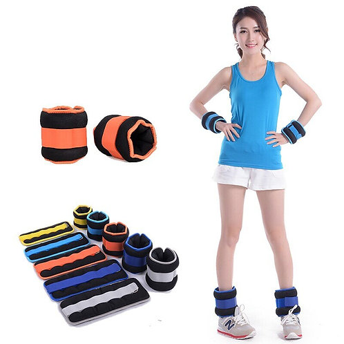 1pcs Ankle Weights, Comfort Fit Wrist & Ankle Cuff, Adjustable .