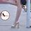 Thumbnail: sandalias platada con gliter en oro