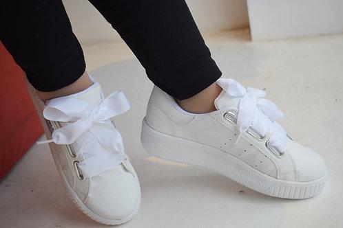 zapatillas base bajas con cinta de bebe