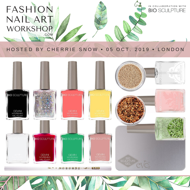 Fashion Nail Art Workshop Hosted by Cherrie Snow in Collaboration with Bio Sculpture