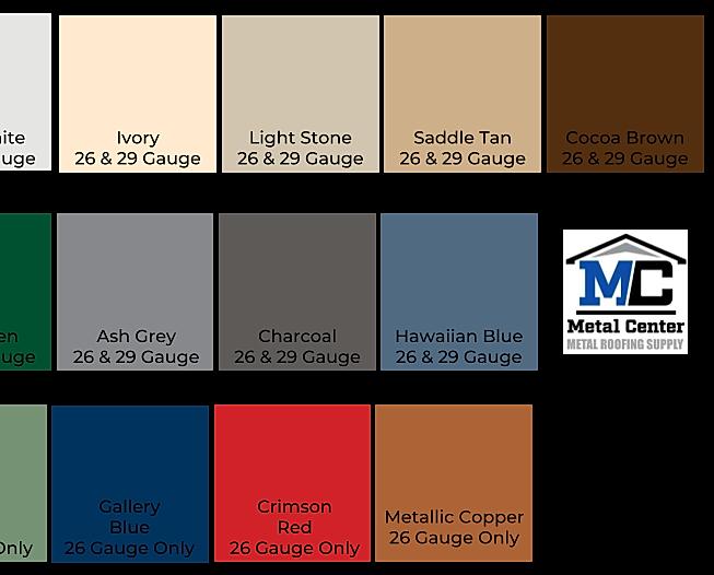 Metal Center Metal Roofing Supply