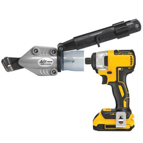 TurboShear® – Corrugated Metal Cutting Drill Attachment