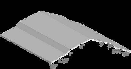 Sculptured Ridge Cap Profile