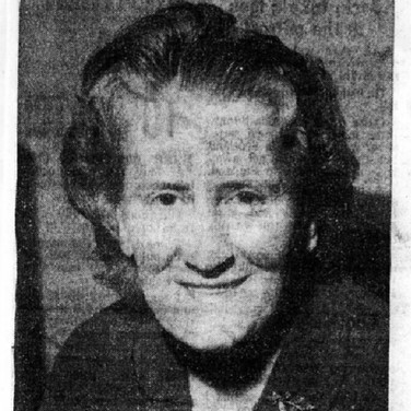 316 Mrs Agnes Halliday President Blackford WRI