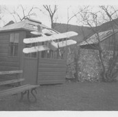 883 Model Meccanno Aeroplane Bank House