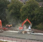 0985 Ash Dumped for Soil Stabilising