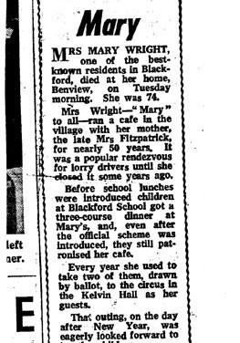 311 Mary Wright Obituary