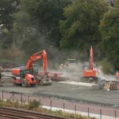 0986 Ash Dumped for Soil Stabilising