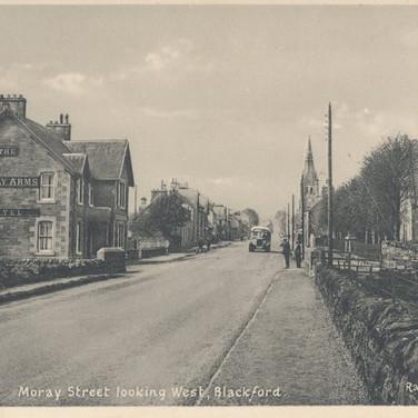 808 Moray Street Looking West, Blackford