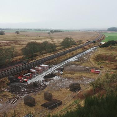 0958 View with New Footbridge Site