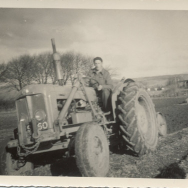 832 Man on Tractor