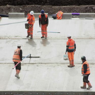 0990 Finish to Concrete Apron