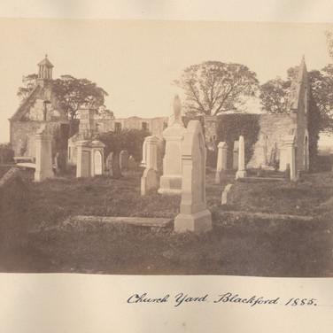 1162 Church Yard Blackford 1885.