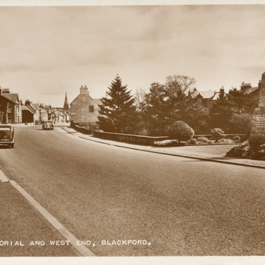 770 War Memorial and West End Blackford